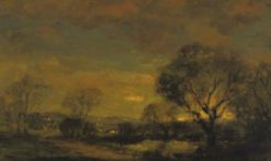 The Sun's Last Rays | Charles P. Appel | Oil Painting