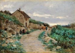 Life around the Farm | Adolphe Appian | Oil Painting