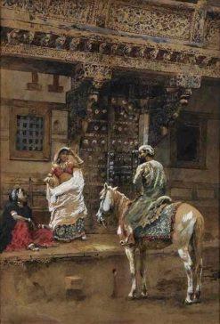 Street in Amen Abad | Edwin Lord Weeks | Oil Painting