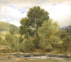 A Highland Landscape | Sir Edwin Landseer | Oil Painting