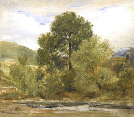 A Highland Landscape | Sir Edwin Landseer | Oil Painting
