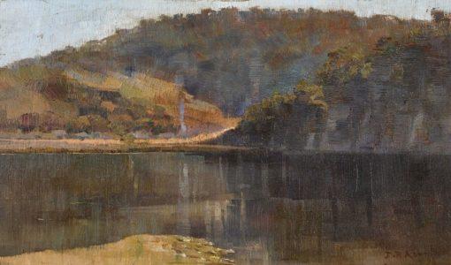 Hawkesbury Landscape | Julian Rossi Ashton | Oil Painting