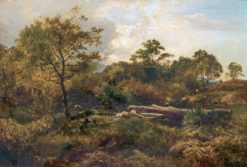Grazing | Sidney Richard Percy | Oil Painting