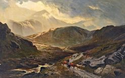 In the Scottish Highlands | Sidney Richard Percy | Oil Painting