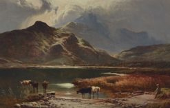 In the Highlands | Sidney Richard Percy | Oil Painting