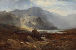 A Highland Lake | Sidney Richard Percy | Oil Painting