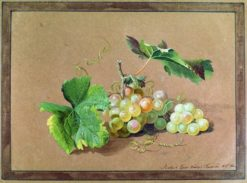 A Bunch of Grapes | Fedor Tolstoy | Oil Painting