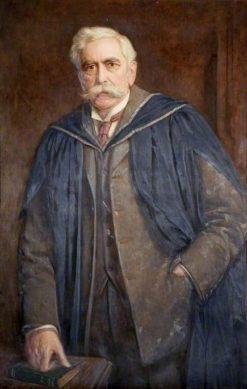 Professor Gisbert Kapp | John Bernard Munns | Oil Painting