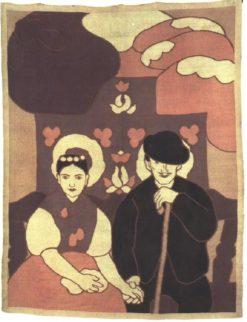Engaged Couple   János Vaszary   Oil Painting