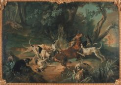Stag Hunt | Jean-Baptiste Oudry | Oil Painting
