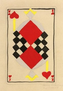Design for a Playing Card | Robert Delaunay | Oil Painting