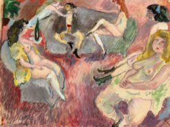 The Prodigal Son   Jules Pascin   Oil Painting