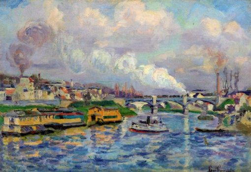 The Seine at Charenton | Armand Guillaumin | Oil Painting