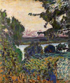 The Seine at Vernon | Pierre Bonnard | Oil Painting