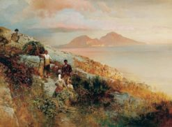 View of Capri | Oswald Achenbach | Oil Painting
