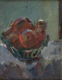 Fruit in ceramic bowl | Anton Faistauer | Oil Painting