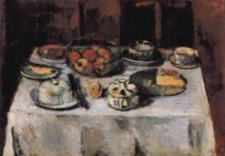The Table | Anton Faistauer | Oil Painting