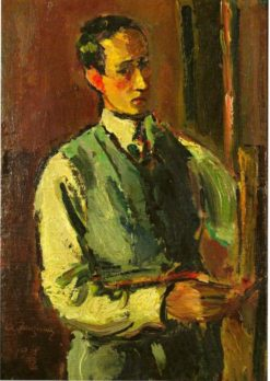 Self Portrait | Anton Faistauer | Oil Painting