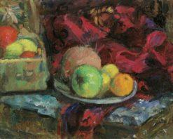 Still Life with Fruit | Anton Faistauer | Oil Painting