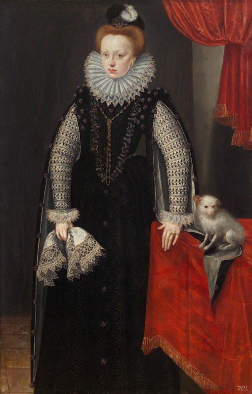 Duchess Sibylle von Jülich-Cleve-Berg   Lucas van Valckenborch   Oil Painting