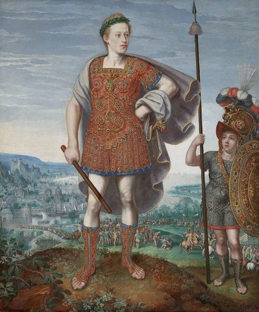 Emperor Matthias as P. Cornelius Scipio Africanus maior | Lucas van Valckenborch | Oil Painting