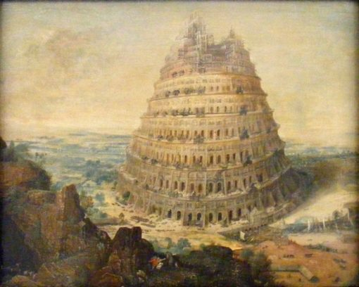 The Tower of Babel | Lucas van Valckenborch | Oil Painting