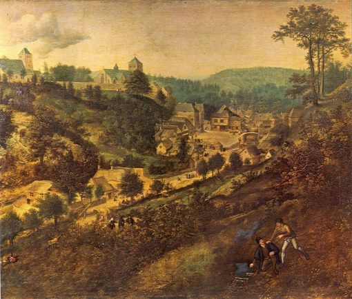 The Burtscheider valley near Aachen | Lucas van Valckenborch | Oil Painting