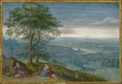 The Rest on The Flight into Egypt | Lucas van Valckenborch | Oil Painting