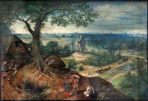 Landscape | Lucas van Valckenborch | Oil Painting