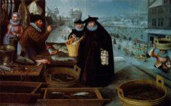 Winter | Lucas van Valckenborch | Oil Painting
