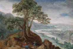 View of Linz | Lucas van Valckenborch | Oil Painting