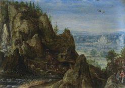 Rocky Landscape | Lucas van Valckenborch | Oil Painting