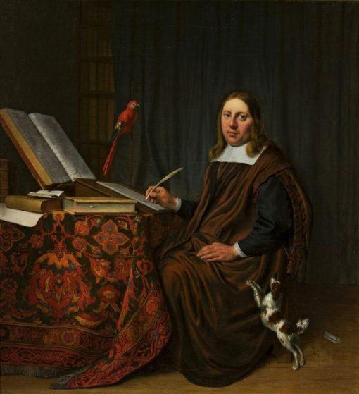 Portrait of a Man | Hendrik Martensz. Sorgh | Oil Painting