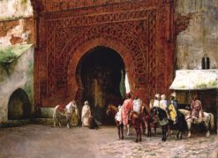 Rabat (also known as The Red Gate) | Edwin Lord Weeks | Oil Painting