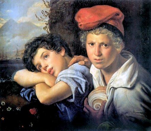 Neapolitan Fisherboys | Orest Kiprensky | Oil Painting
