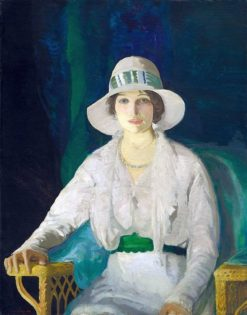 Florence Davey | George Wesley Bellows | Oil Painting