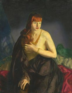 Nude with Red Hair | George Wesley Bellows | Oil Painting