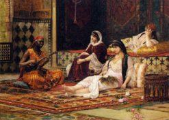 Entertaining the Favorites | Filippo Baratti | Oil Painting