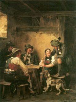 In the Tavern | Franz von Defregger | Oil Painting