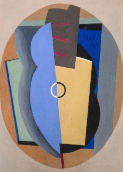 Composition   Albert Eugene Gallatin   Oil Painting