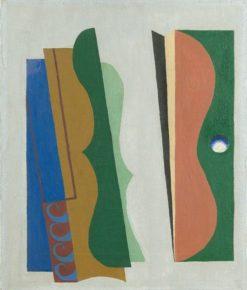 Musical Abstraction   Albert Eugene Gallatin   Oil Painting