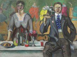 Natalia Goncharova and Mikhail Larionov | Alexei Morgunov | Oil Painting