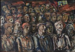 The Rally | Alexei Morgunov | Oil Painting