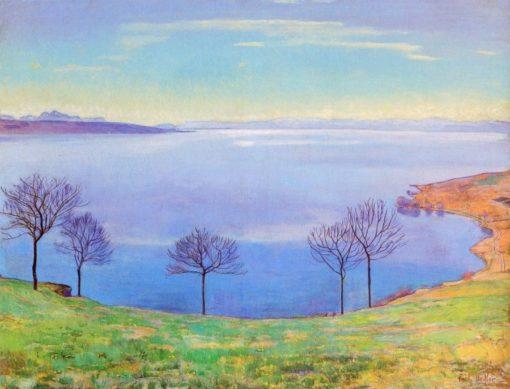 Lake Geneva   Ferdinand Hodler   Oil Painting
