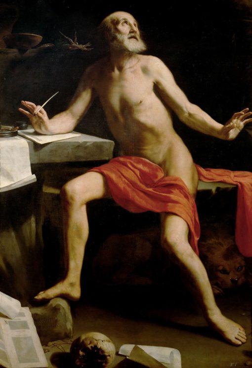 Saint Jerome | Guido Cagnacci | Oil Painting