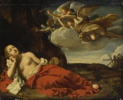 Penitent Mary Magdalene | Guido Cagnacci | Oil Painting