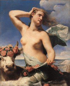 Rape of Europa | Guido Cagnacci | Oil Painting