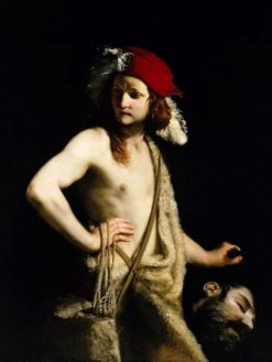 David and Goliath | Guido Cagnacci | Oil Painting