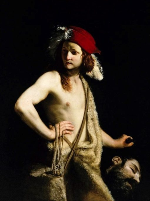 David and Goliath   Guido Cagnacci   Oil Painting