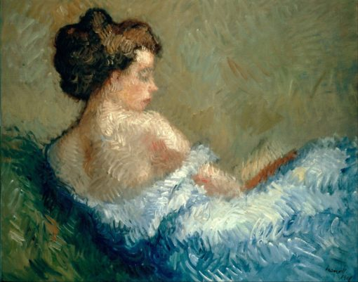 Reclining figure | Isidro Nonell Monturiol | Oil Painting